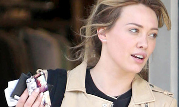 Hilary Duff Regali dal team italiano