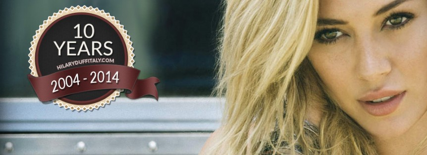 Hilary Duff Italy 10 anni Buone Feste