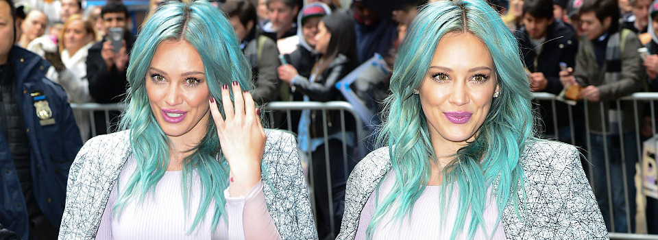 Hilary Duff Good Morning America Abc Studios New York
