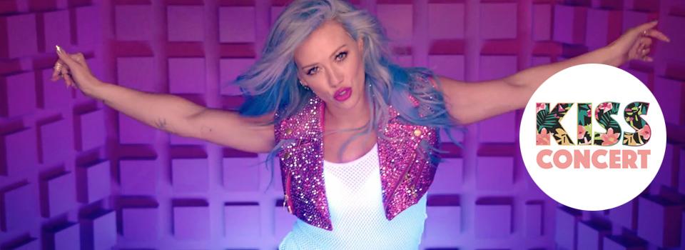 Hilary Duff al Kiss Concert 2015 canta Sparks