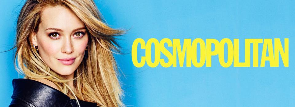 Cosmopolitan Italia Hilary Duff