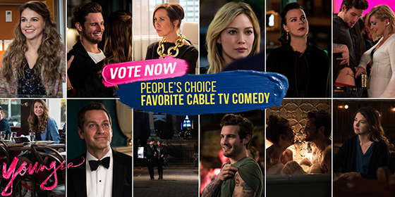 Vota la serie tv Younger come miglior commedia