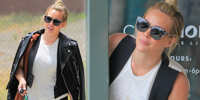 Foto Hilary Duff fa shopping a Brentwood