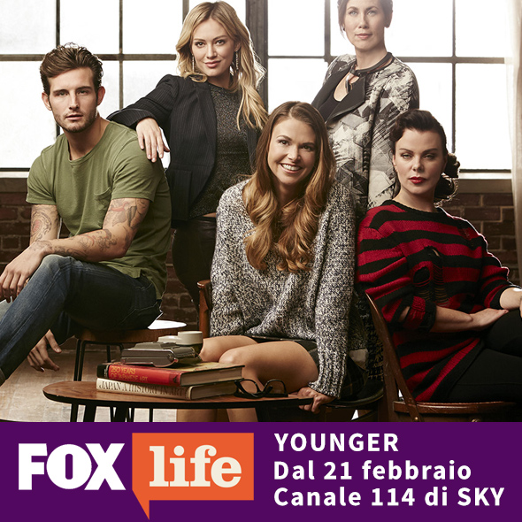 Serie Tv Younger con Hilary Duff su Fox Life in Italia da febbraio