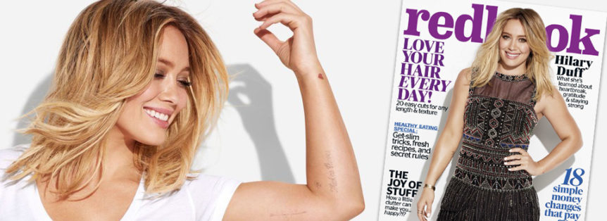 Hilary Duff Rivista Redbook magazine aprile usa intervista news
