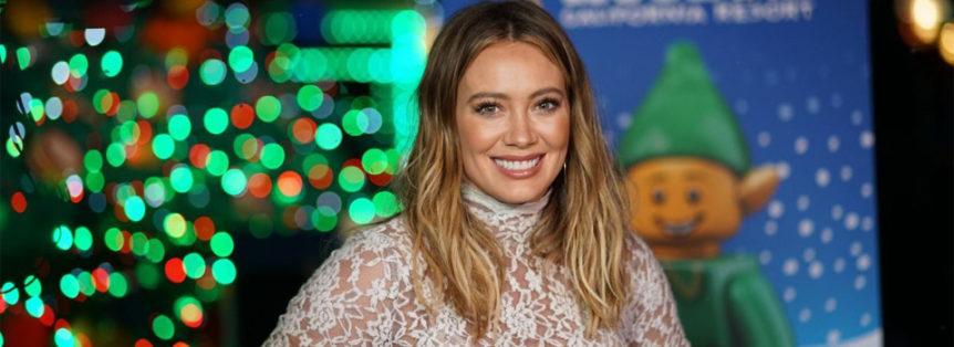 Hilary Duff a Legoland albero di natale