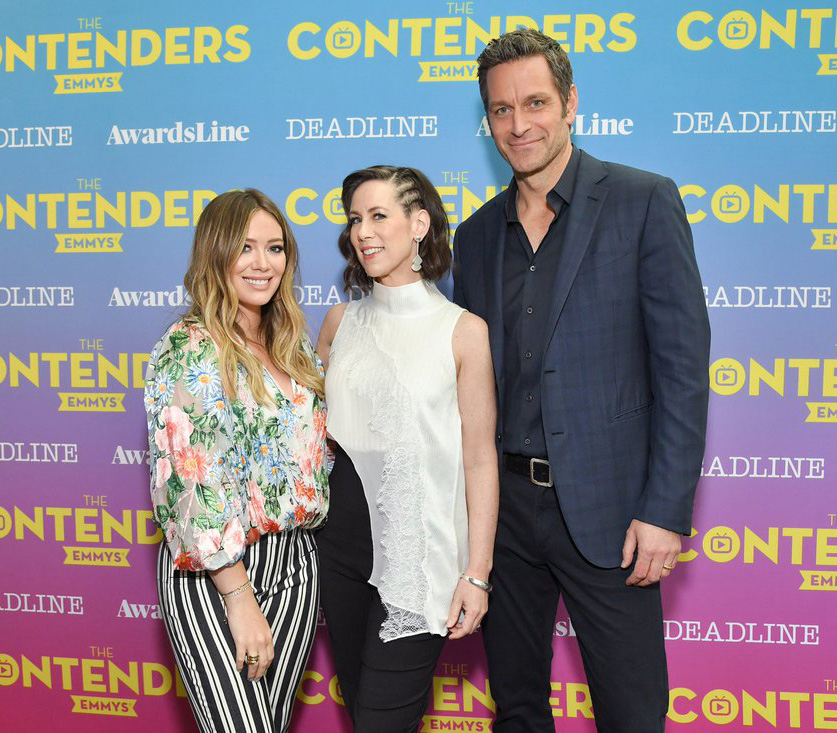 hilary duff the contenders emmy cast younger foto