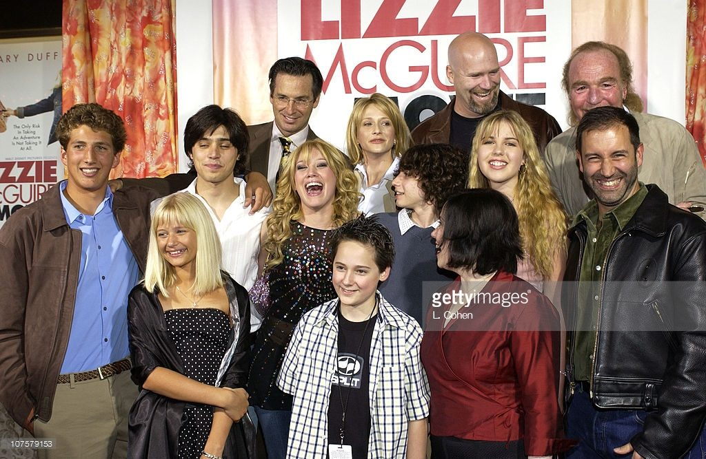 The Lizzie McGuire Movie PREMIERE del film 2003 con tutto il cast