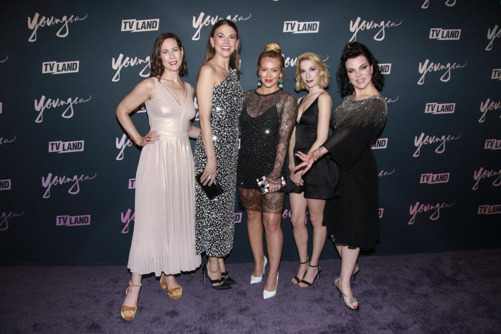 Hilary Duff premiere New York serie tv Younger 04062018