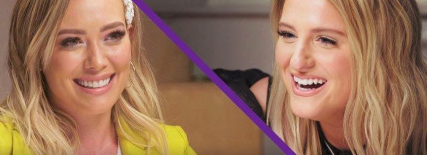 Hilary fa un quiz a Megan Trainor su Lizzie McGuire