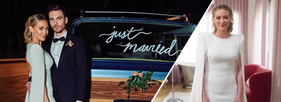 Hilary Duff si sposa con Matthew Koma il matrimonio