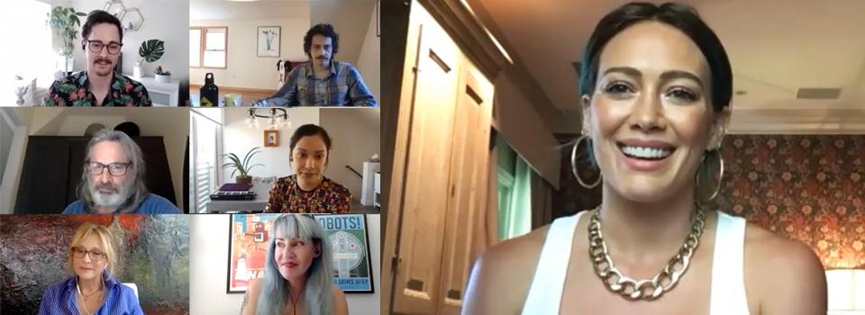 reunion cast lizzie mcguire table read episodio