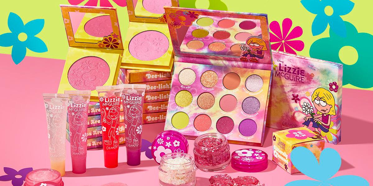 lizziemcguire linea makeup colourpop